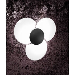 Plafoniera Clover 1114/45 nero Toplight