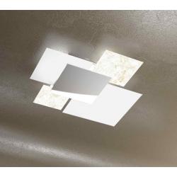 Plafoniera Shadow 1088/70 foglia oro Toplight