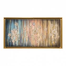 """Quadro per camere da letto """"Sogno Floreale"""" 130x70 Art Maiora"""