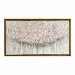 "Quadro dipinto a mano con fiori moderni ""Bouquet"" 130x70 Art Maiora"