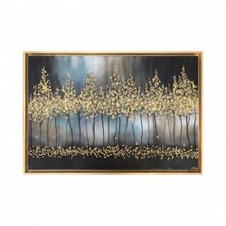 """Quadro moderno dipinto a mano su tela """"Notte Romantica"""" 120x80 Art Maiora"""