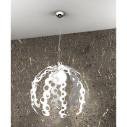 Sospensione Chain 1118 bianco Toplight