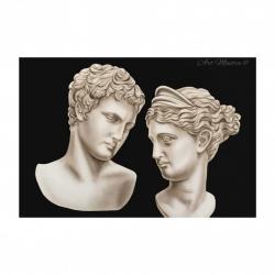 """Quadro moderno figurativo """"Eterno Amore"""" 120x80 Art Maiora"""