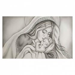"""Capezzale con maternità in stile moderno """"Amore Di Mamma"""" 110x65  Art Maiora"""