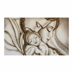 """Quadro sacra famiglia per camera da letto """"Abbraccio"""" 110x65  Art Maiora"""