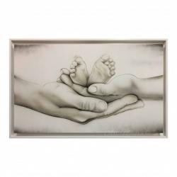 """Capoletto moderno con la sacra famiglia """"Different Family"""" 110x65 Art Maiora"""