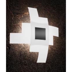 Plafoniera Tetris Color 1121/55 nero Toplight