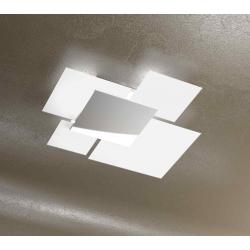 Plafoniera Shadow 1088/70 bianco Toplight