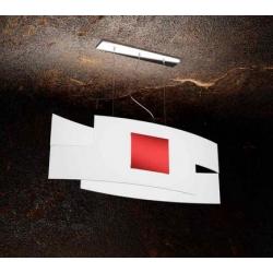 Sospensione Tetris Color 1121/S75 rosso Toplight