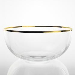 Coppa Cristallino Filo Oro...