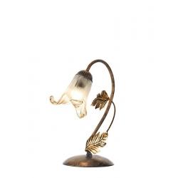 Lampada da Tavolo 2490 ruggine Ondaluce