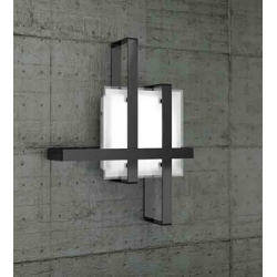 Plafoniera Cross 1106/50 nero Toplight
