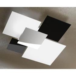 Plafoniera Shadow 1088/90 nero Toplight